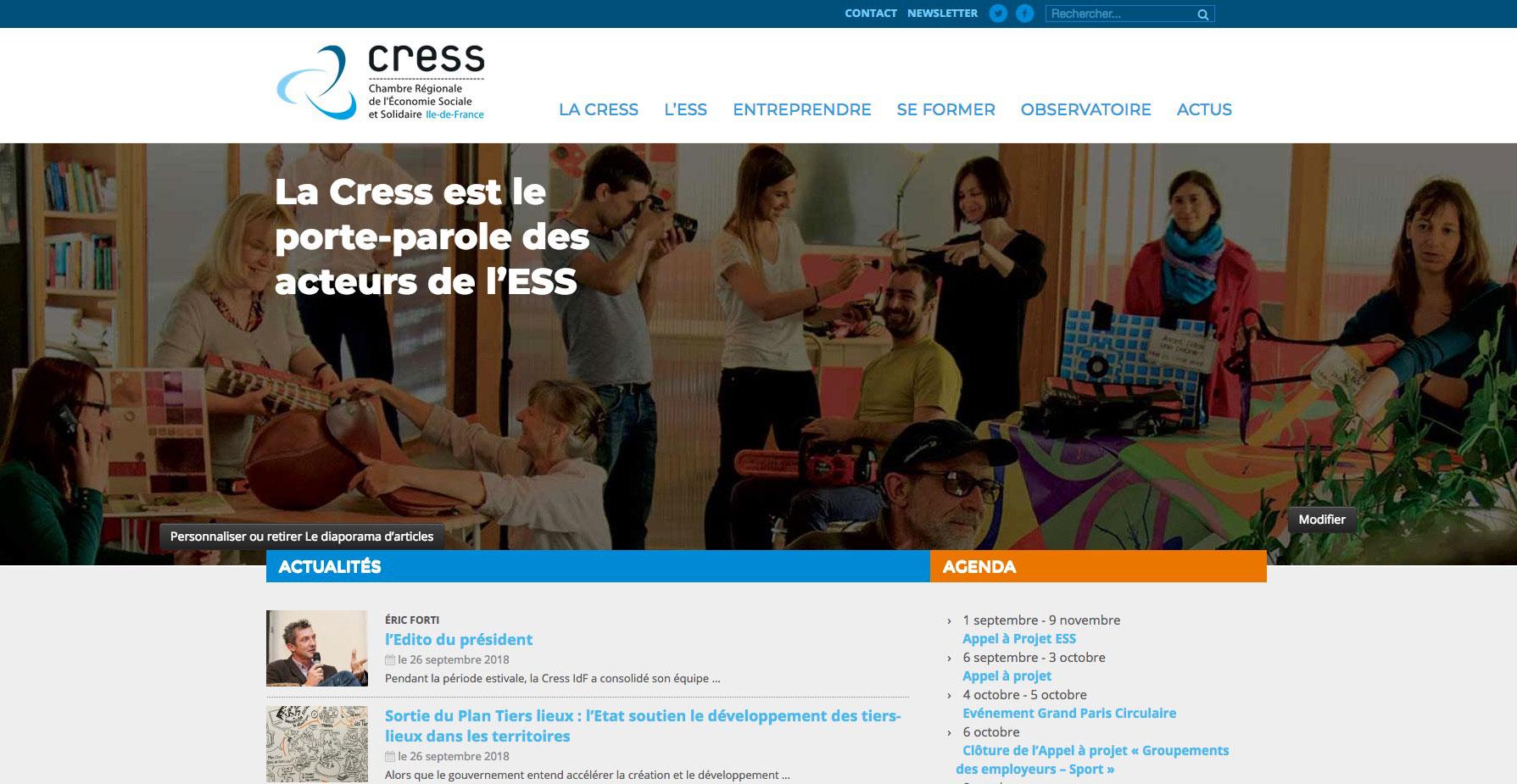 Cress-Ile de France screen 1