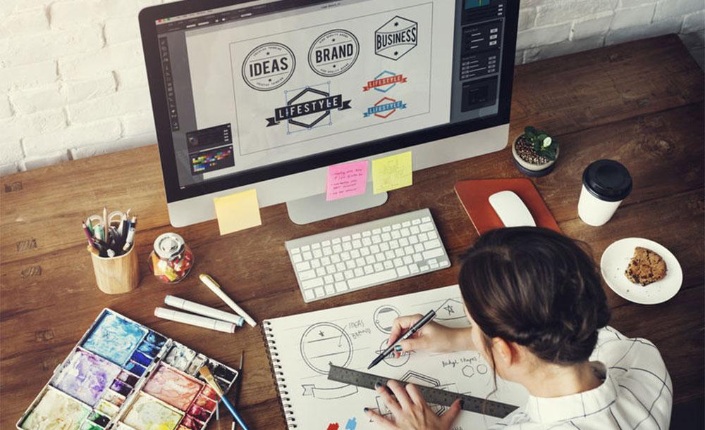 graphiste Anduze design logo packaging print