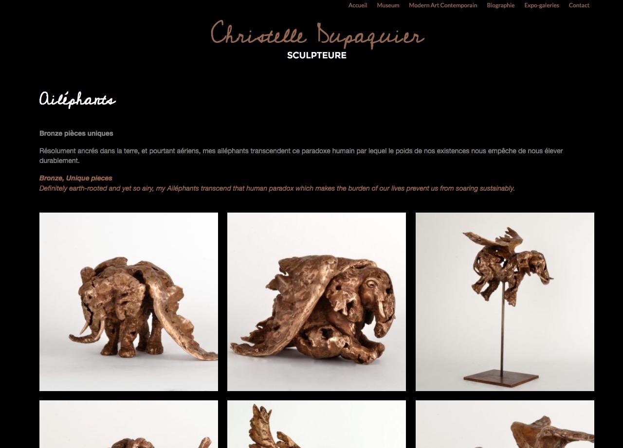 Christelle Dupaquier screen 1